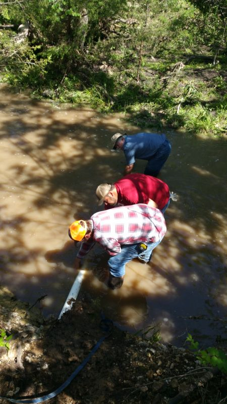 Silver Creek Line Repair